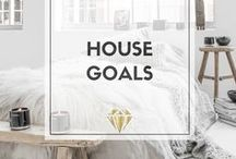 // House + Apartment Goals / Some gorgeous inspo + some ideas that I've put into my own home. Style doesn't have to be dull. #fashion #bangles #style #shopping #homedecor