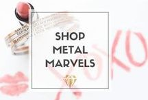 // Shop Metal Marvels / All products available on metalmarvels.com ! We cater to bold women who break the mold, who are tired of societies standards, and curse like a sailor. Jewelry, accessories, drinkware, and more! #fashion #bangles #style #shopping