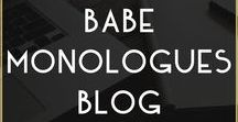 // Babe Monologues Blog / A blog by Metal Marvels about women, fashion, female empowerment, being bold, loving yourself, being confident and more.