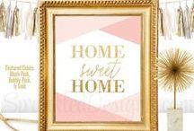 Home Inspiration / Pretty home decor inspiration | Elegant, clean, modern home inspiration