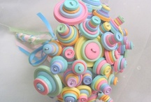 Bridal Button Bouquets / by Groovy Pumpkin