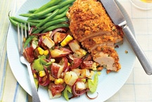 Easy Family Dinner Ideas / Easy dinner ideas for busy families. Chicken, vegetarian, meal plans, healthy, quick, weeknight.