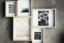 Frames -  quadros -  poster / by Gigi Brazil