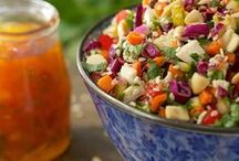 Simply Salads and Sides / Letting the veggies take center stage / by Prairie Wisdom