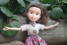 Dolls / Being an only child and a girly-girl . . . well, let's just say that explains why I love dolls!