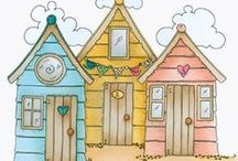 Beach Huts & Houses / by Groovy Pumpkin