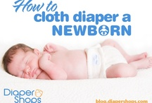 Newborn Cloth Diapers / by Diaper Shops