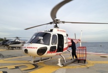 Monaco Helicopter Travel / Travel to Monaco in style: by Helicopter! Traveling to Monaco from the Nice airport has never been easier or more luxurious.      For information on how to book helicopter flights, please visit: http://heliairmonaco.com/home.html