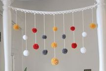 Croche e Trico  -  decoração e acessórios  para crianças