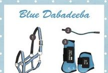 Blue Dabadeeba / I have a blue saddlepad with a blue fly cap, blue is the color of all that I wear.  Blue are the rugs and all the halters are too I'm blue ba da ba dee da ba dye ba da ba dee da ba dye ba da ba dee ba ba dye | Shop at: http://www.ej.nl/english/