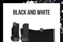 Black & White / I don't matter if you're black or white | Shop at: http://www.ej.nl/english/