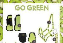 Go Green / Go, go green! | Shop at: http://www.ej.nl/english/  / by Epplejeck