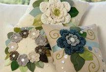 Croche e Trico - almofadas e  detalhes travesseiros