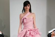 FALL 2014 - VERA WANG BRIDE / Pink as sensual, pink as seductive, pink as dreamy, pink as sophisticated, pink as strong, pink as cool. Think pink! / by Vera Wang