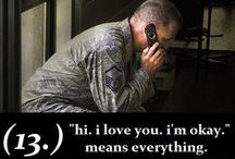 Military Family / Dad Army National Guard ~ Husband USMC ~ Son 4 years in Air Force ROTC, now USAF!!. Proud of my Military Family <3 / by Melanie Mick