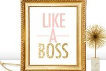 Boss Lady /  ✨ Business resources & boss lady goodies! ✨