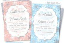 Winter Wonderland Baby Shower Ideas / Winter Wonderland Baby Shower Ideas ✨ http://www.SprinkledDesigns.com ✨ https://www.facebook.com/sprinkleddesign ✨Instagram: @sprinkleddesigns