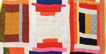 Modern Quilt Inspiration / The elegant beauty and artistry of modern quilts!