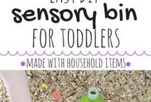 Baby & Toddler Crafts, Activities & Learning / Easy DIY crafts and activities for toddlers and babies. Sensory play, fine motor development, outdoor play, easy crafts, toddler crafts, baby sensory play