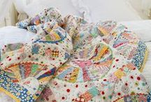 Cozy Quilts / The kind of quilt that makes you want to cuddle with your honey.
