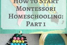 Montessori & Preschool Resources / Montessori | Homeschool | Education | Toddler Learning | Early Literacy | Learning Games | Preschool | Homeschooling | Resources | Activities | Free Printables |
