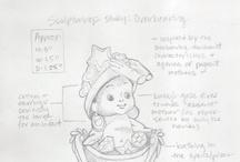 Sculpturings: WIP Sketches