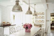 cottage kitchens / by Laura Smith