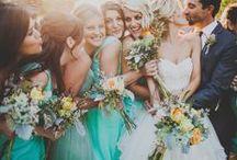 bridal party poses I <3