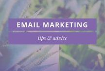EMAIL MARKETING TIPS + ADVICE FOR SMALL BUSINESS / Email Marketing tips, email marketing, list building, list growth, lead generation, mailchimp, convertkit, infusionsoft, campaign monitor, active campaign, funnel, sales funnel, nurture funnel, e-course, e-course launch, business