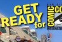 San Diego Comic Con 2015 Go Bag / What to bring for the 2015 San Diego Comic Con from gear to comfy shoes.