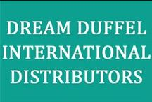Around The World / If you live outside the United States, don't worry! You can still get a Dream Duffel®. Dream Duffel, LLC does not ship internationally but we do have multiple distributors all over the world that can help! Contact the distributor closest to you to place an order today!