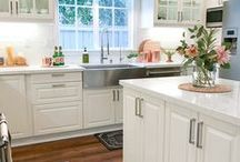 IKEA Kitchens / Real-Life beautiful and inspirational IKEA Kitchens