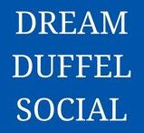 Dream Duffel Social / We're active on social! Are you? Be sure to connected with us for all sorts of company updates, promos, and behind-the-scenes looks.