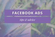 FACEBOOK ADS HELP / Facebook Ads tips, ideas & advice