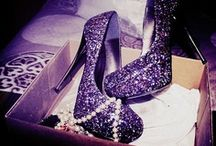 Inspiration : Glittery Pink and Purple Party / For all the girly girls and their parties - who doesn't love sparkle?