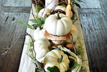 Holiday Decor: Halloween and Fall Tables / Fun ideas for Halloween decorations and pretty fall tablescapes