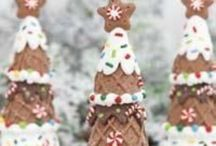 Holiday : Winter + Christmas Edibles / Yummy Holiday Edibles from appetizers to sweets. Some fun, some elegant and some unique ideas all in this winter Christmas Board. / by Brenda's Wedding Blog | Blogger of Elegant Weddings / Business + Social Media Marketing for Wedding Industry