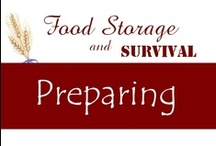 Preparedness / by Food Storage and Survival