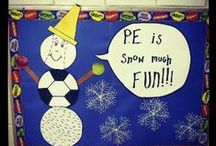 PE Bulletin Boards / Great bulletin boards from PE Central. http://www.pecentral.org