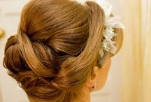 Wedding Hairstyles / Pretty hairstyles for the wedding day - updo's, long waves, braids and more