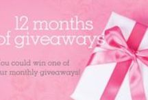 Giveaways for Perfect Wedding Guide / Follow this page to see recaps of recent giveaways, news on upcoming giveaways, and to hear what we're giving away!
