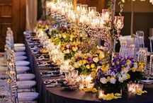 Fancy Wedding I Wedding Reception Ideas / Splendid, refreshing, unique wedding reception ideas and wedding decorations for your special day!  Many of these great decoration ideas are wonderful for parties and other special occasions. #weddingreceptionideas / by Blissful Gatherings - Wedding Favors - Wedding Accessories