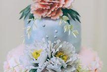Wedding Cakes-Cupcakes-Designer Cakes & Designer Cookies / All sorts of beautiful, creative, colorful, yummy cakes, cupcakes and weddings cakes. Customized and designer cakes for weddings and special events.