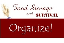 Organize Me! / by Food Storage and Survival