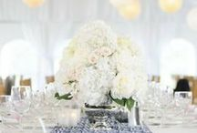 Wedding Inspo / The inspiration behind my own blue + white wedding.