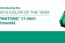 COLOR of the YEAR 2013: EMERALD