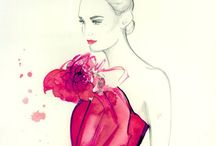 Fashion sketches, illustrations and more...  / by ilenia alesse