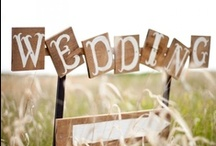 Our Wedding / Ideas and details that inspired our May 2012 wedding :) / by Lexie Hall Auslund