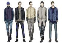 Fashion illustrations Man