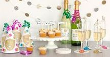 Holiday - New Year's Eve Party Inspiration / Party and decor ideas to ring in the new year with